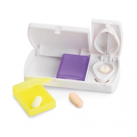 Demi-Medi Coupe-Comprimés et Pilulier