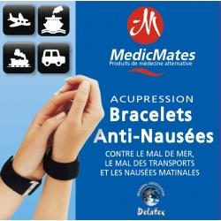 Bracelets Medicmates Anti Nausées